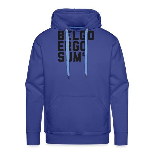 Belgo Ergo Sum - Men's Premium Hoodie