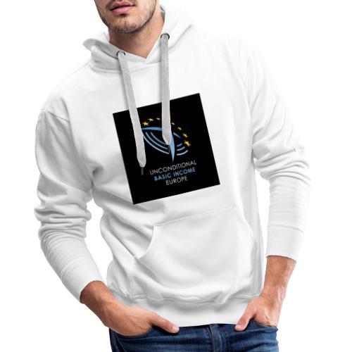02 ubie on black centered square jpg - Mannen Premium hoodie