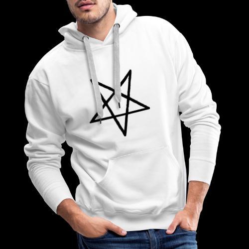 Pentagram2 png - Männer Premium Hoodie
