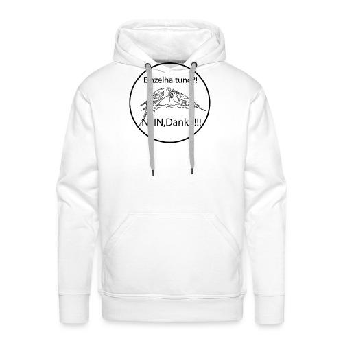 Welli_Einzelhaltung - Männer Premium Hoodie