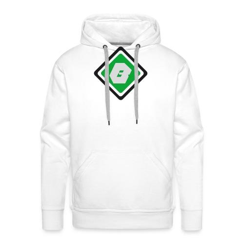Bro'casters   Logo - Sweat-shirt à capuche Premium pour hommes