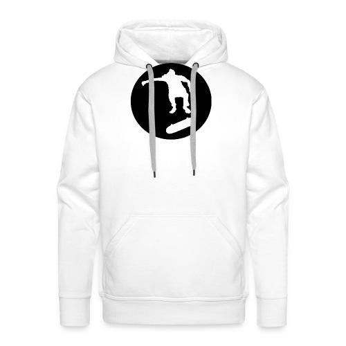 FVHJ Hoodie med logo på ryggen - Herre Premium hættetrøje