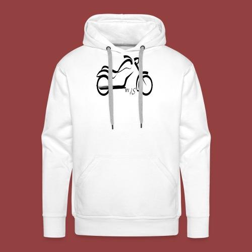 moto - Sudadera con capucha premium para hombre