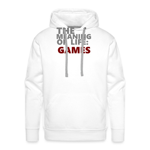 T-Shirt The Meaning of Life - Mannen Premium hoodie