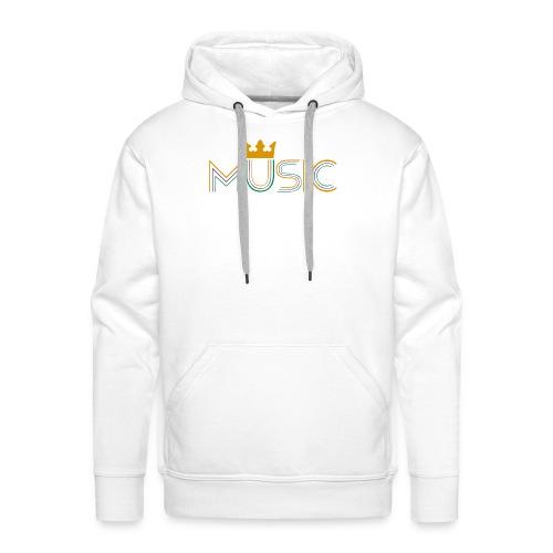 Music Bag - Sudadera con capucha premium para hombre