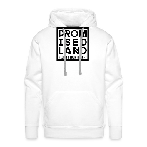 Limited Edition Promised Land 12th Birthday White - Men's Premium Hoodie