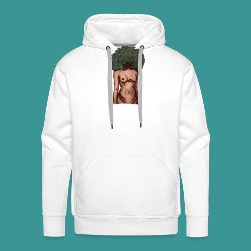 womb woman - Mannen Premium hoodie
