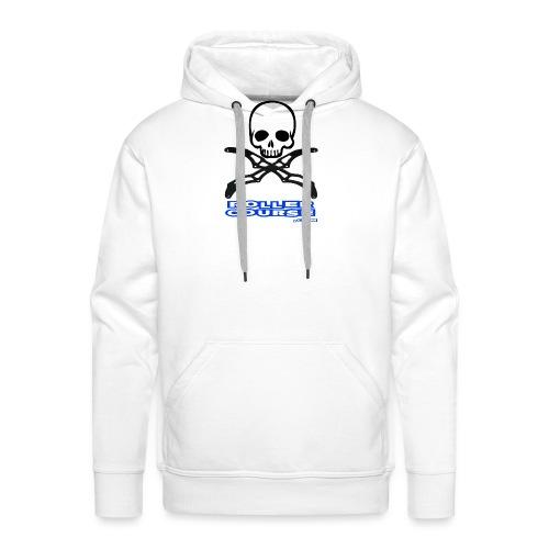 Skull rollercourse - Sweat-shirt à capuche Premium pour hommes