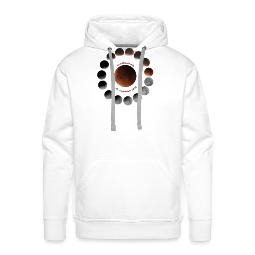 Mondfinsternis 2015 - Männer Premium Hoodie