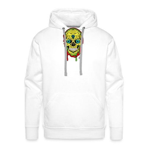 Dipped Sugar Skull - Men's Premium Hoodie