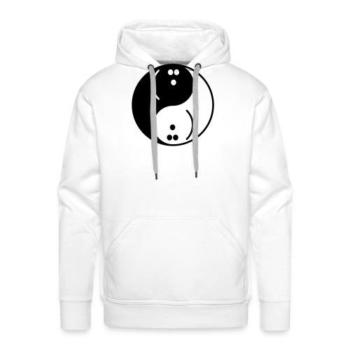 Bowling Yin-Yang - Men's Premium Hoodie