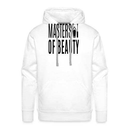 master of beauty string - Mannen Premium hoodie