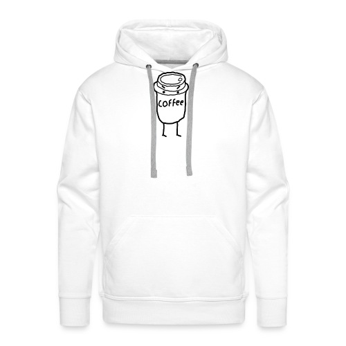 Cold Coffee - Men's Premium Hoodie