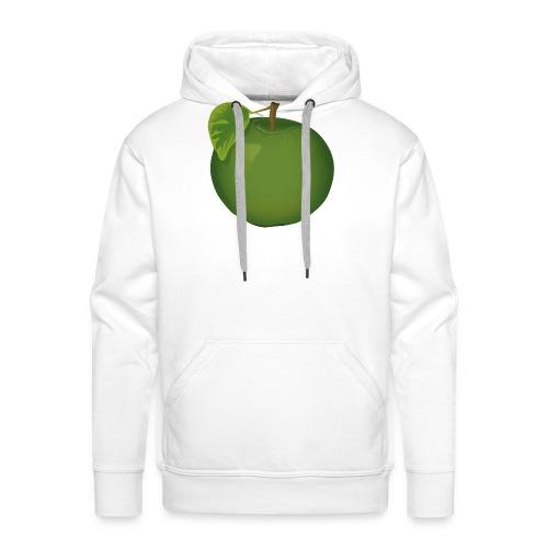 Apfel Pomme Apple - Männer Premium Hoodie
