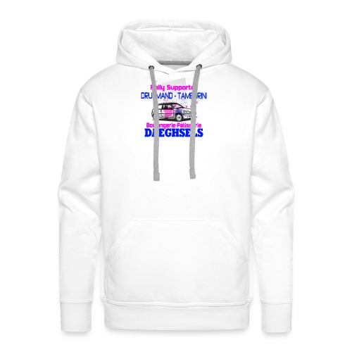 drugmand_tamburini_logo-png - Sweat-shirt à capuche Premium pour hommes