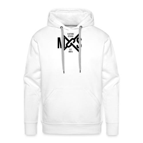 MGS Logo Phone png - Men's Premium Hoodie