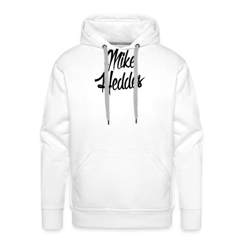 Mike Heddes Logo Black - Men's Premium Hoodie