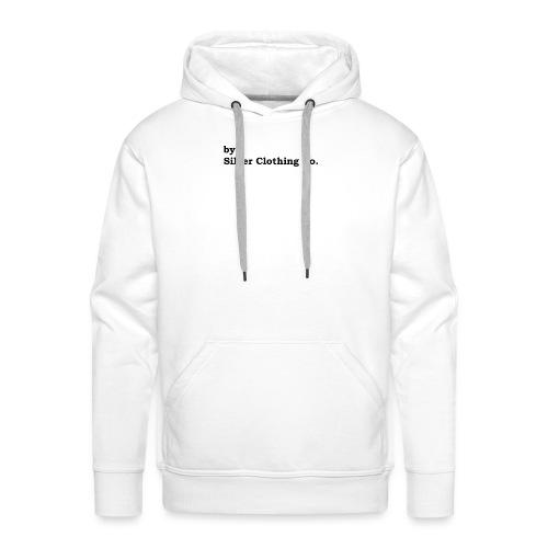 by Silver Clothing Co. - Herre Premium hættetrøje