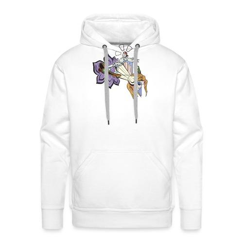 Spring Doodle - Mannen Premium hoodie