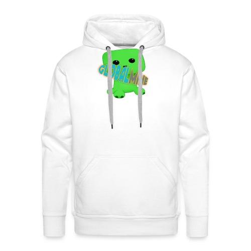 GlobalMine Creeper - Felpa con cappuccio premium da uomo