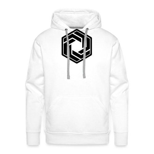 BW Logo White Shirt - Men's Premium Hoodie