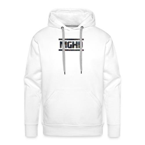 MGHD WHITE T-SHIRT - Men's Premium Hoodie