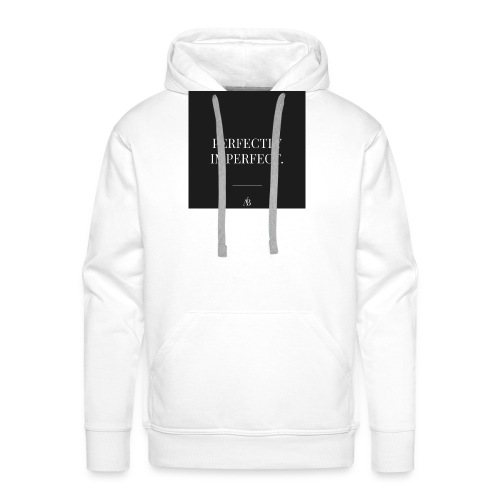 Perfectly Imperfect Print - Männer Premium Hoodie