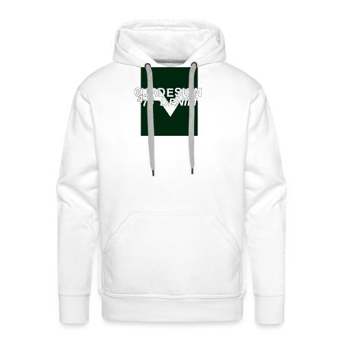 OD-ID: 004 The Green Crack - Men's Premium Hoodie