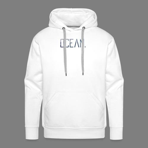 Ocean - Sudadera con capucha premium para hombre