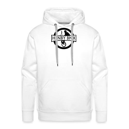 Plain Man's T-Shirt (Official HenbyBMX Logo) - Men's Premium Hoodie