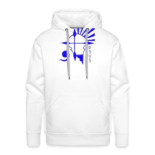 Deus Rebels - Sweat-shirt à capuche Premium pour hommes