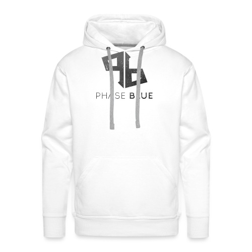 Phase Blue Baseball Shirt - Men's Premium Hoodie