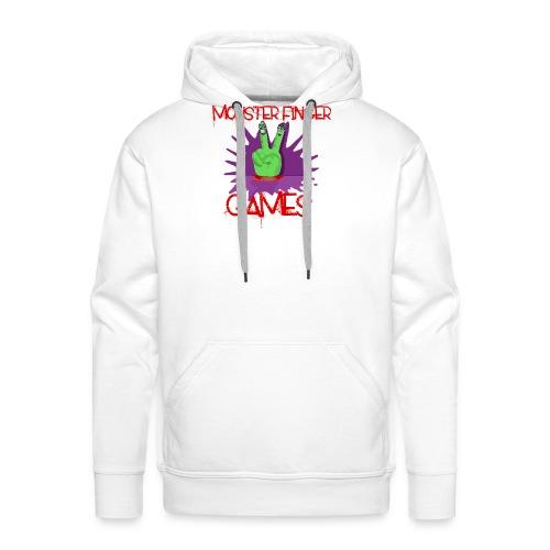Monster Finger Games Logo - Men's Premium Hoodie