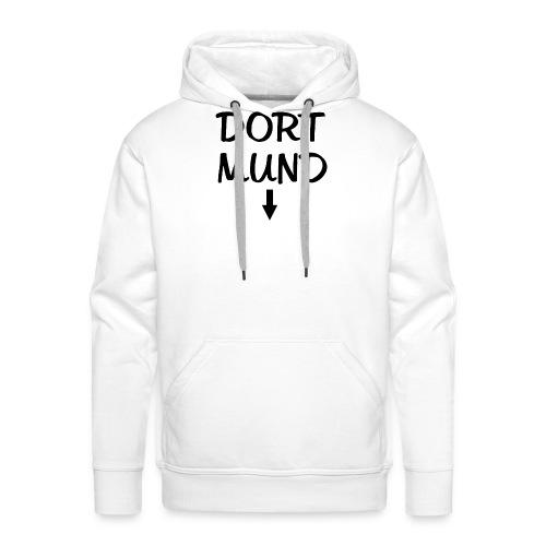 Dortmund Witzig Weiß - Männer Premium Hoodie