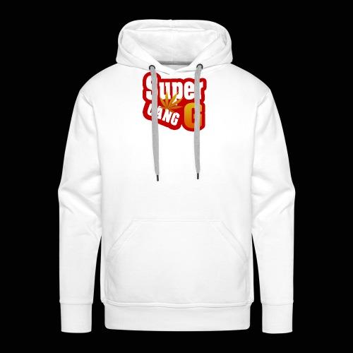 SuperG-Gang - Herre Premium hættetrøje