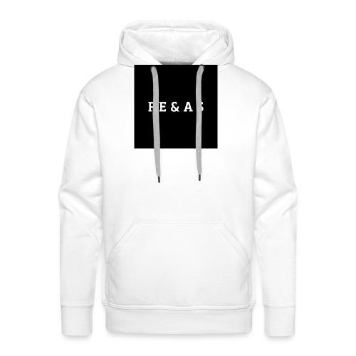 FEAS WHITE T-SHIRT - Mannen Premium hoodie