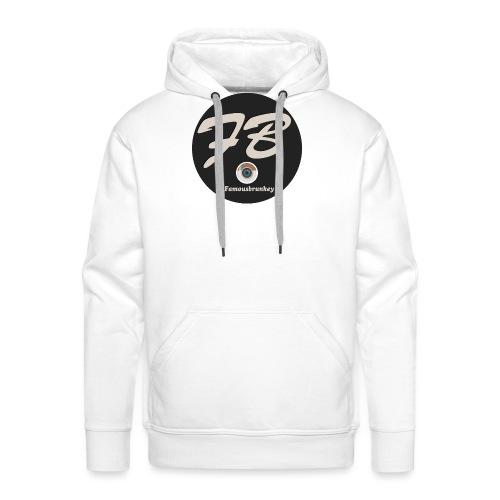 TSHIRT-INSTATUBER-METLOGO - Mannen Premium hoodie