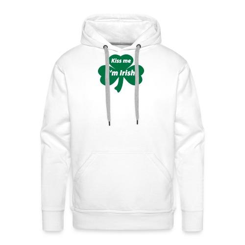 Kiss me I'm Irish - Männer Premium Hoodie