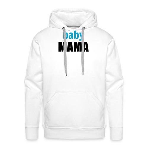 Baby boy mum mug - Men's Premium Hoodie