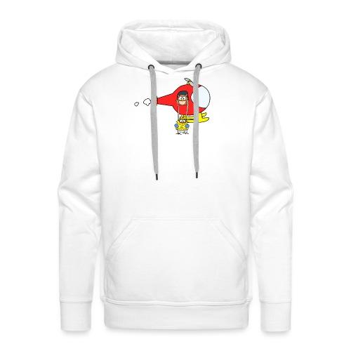 super-héros - Sweat-shirt à capuche Premium pour hommes