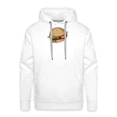 Burger - Sweat-shirt à capuche Premium pour hommes