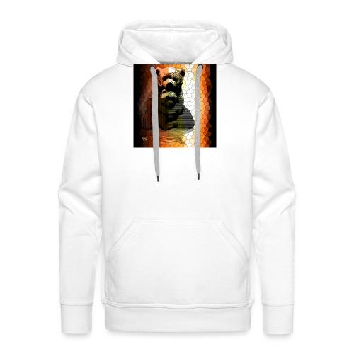 Ourse et Ourson - Sweat-shirt à capuche Premium pour hommes