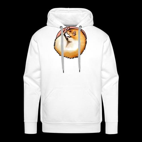 Hooded Rat - silver fawn - Men's Premium Hoodie