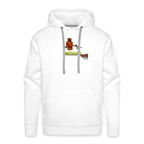 Minecraft Dinosaurs T-shirt - Mannen Premium hoodie