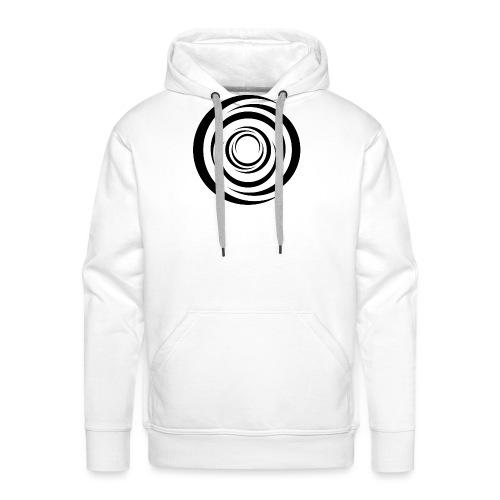 Black Whirl - Männer Premium Hoodie