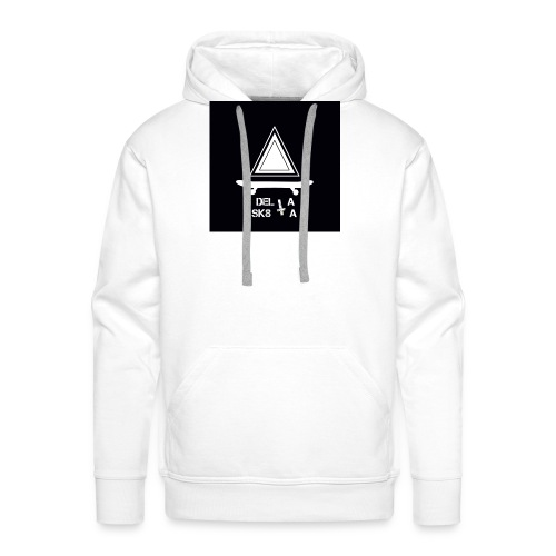 Logo5 jpg - Sweat-shirt à capuche Premium pour hommes