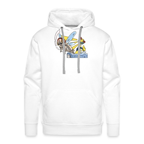 Sunshine buzz - Mannen Premium hoodie