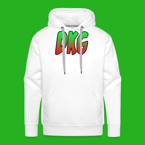 Red and black DKG Snapback - Mannen Premium hoodie