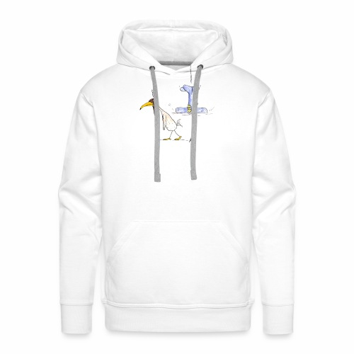 cartoon_Kleimdesign_abstu - Männer Premium Hoodie
