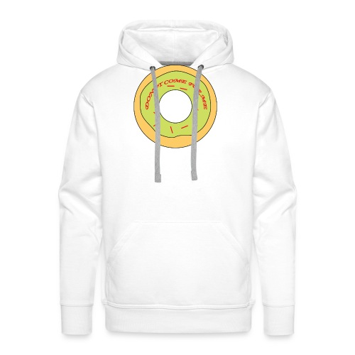 Donut Come For Me Red - Men's Premium Hoodie